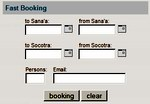 Our new Socotra tour booking system is now at your disposal