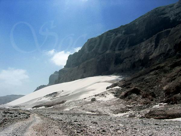 Socotra Picture of the Day: Sand dunes in the north-east