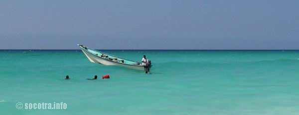 Socotra Picture of the Day: fishing boat in the Indian Ocean