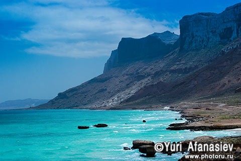 Socotra Picture of the Day: The north-eastern coast of the island