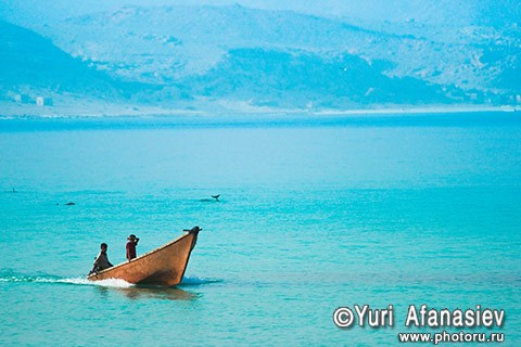 Socotra Picture of the Day: Early morning in the bay Shuab