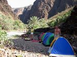 Camp sites on Socotra