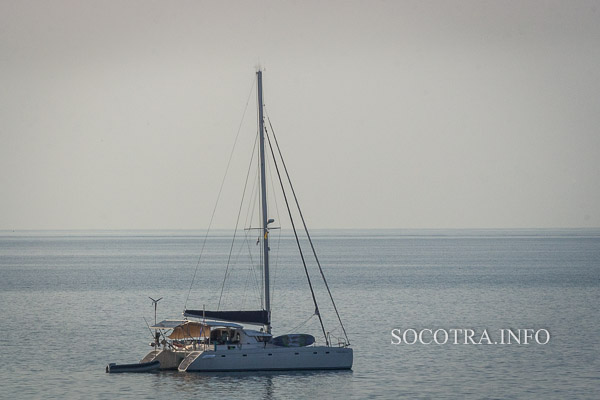 Sailing on Socotra island