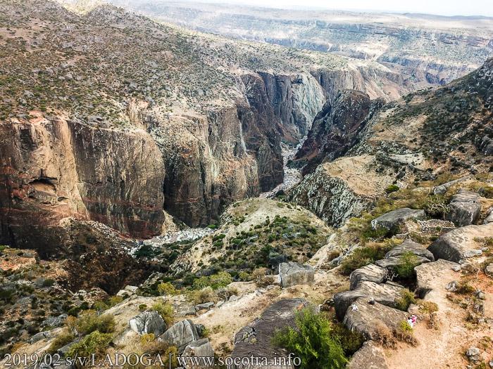 Wadi Dirhur Canyon