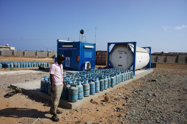 New petrol station on Socotra