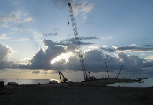Building a new seaport on Socotra