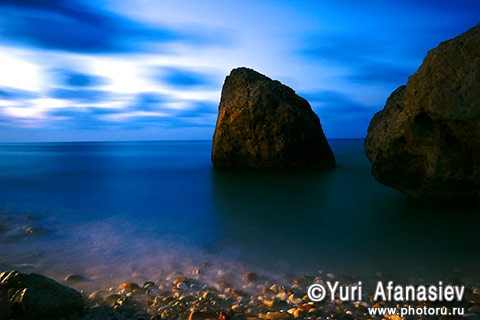 Socotra Picture of the Day: Sea after sunset