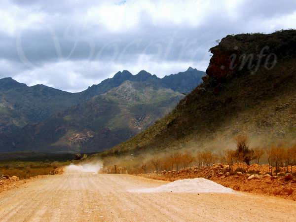 Socotra Picture of the Day: Road construction on Socotra