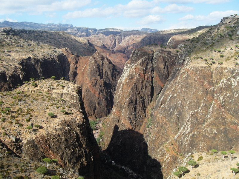 Socotra Picture of the Day: Canyon Wadi Dirhur