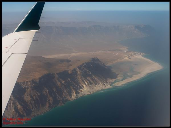Socotra Picture of the Day: Detwah lagoon from the air