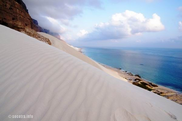 Socotra Picture of the Day: View from the top or the dunes