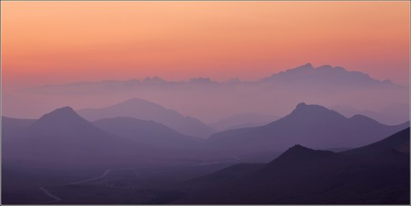 Socotra Picture of the Day: Sunset panoramas in the central part of the island