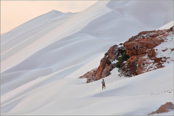 Socotra Picture of the Day: sand mountain