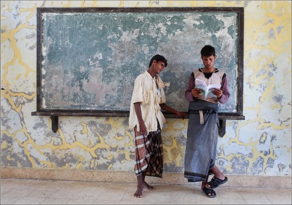 Socotra Picture of the Day: In the school