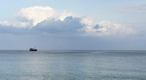 Socotra Picture of the Day: A vessel at anchor