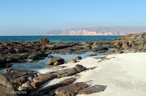 Socotra Picture of the Day: West part of Shuab bay